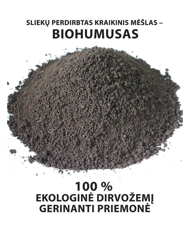 Biohumusas 10 litrų pakuotė